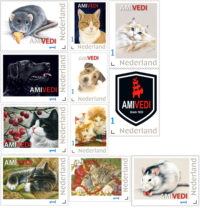 Postzegels Amivedi